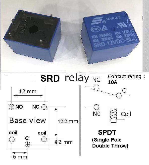 Relay Datasheet And Application Note Data Sheet Circuit Pdf on 6 pole switch diagram
