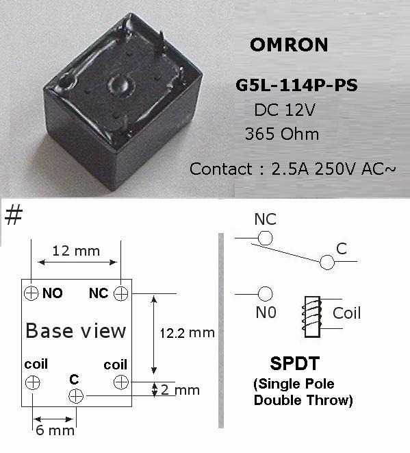 Omron Relay Wiring Diagram from www.escol.com.my