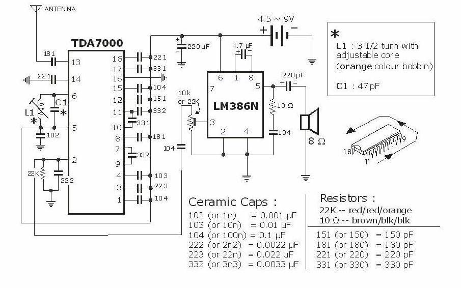 About Tda7000 Fm Radio Ic