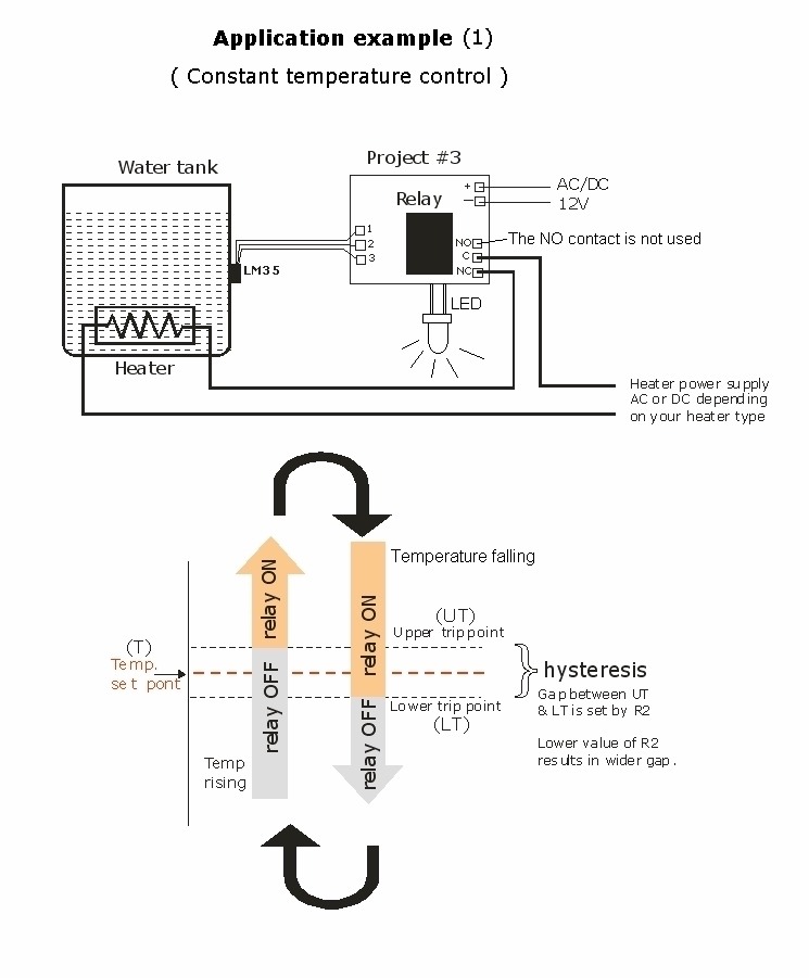 Temperature-Controlled Relay Using LM35 & TL431