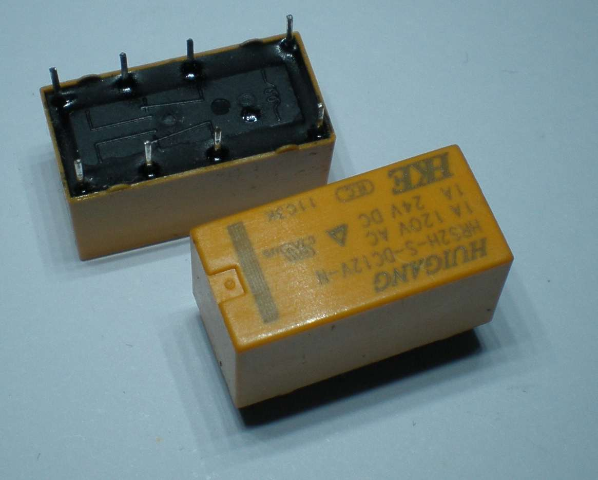 Relays Switches Push Buttons Relay 12v 400 Ohm Spdt Hke Miniature